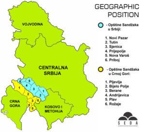 O Regionu Seda